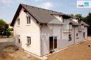 Prodej rodinného domu 4+kk - 108m2 a garáž (pravý), Praha - Satalice